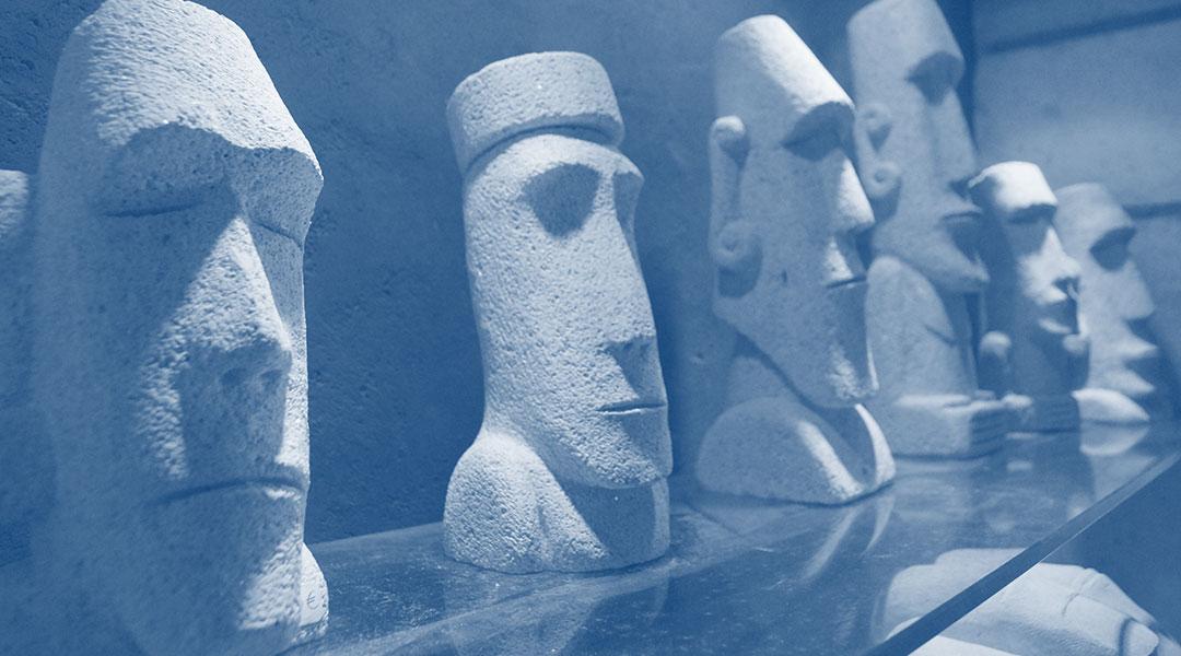Sculptures inspiration arts primitifs